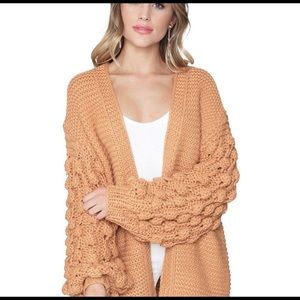 Fate Pom Bubble Sweater IN CREAM